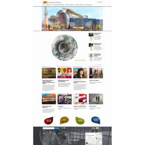 Art Gallery of Alberta Website